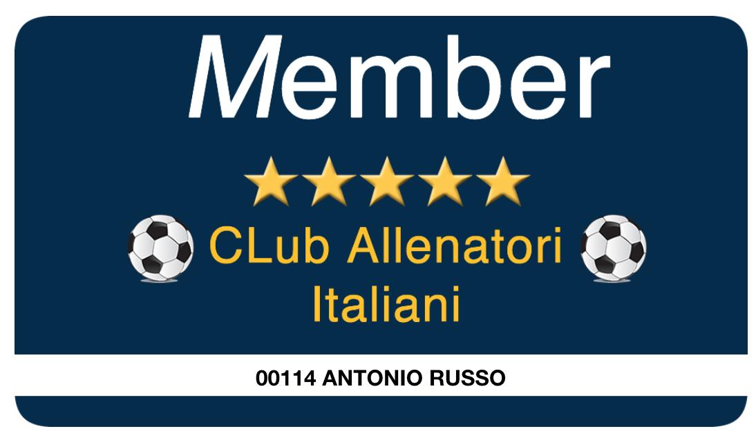 TESSERA CLUB ALLENATORI ITALIANI