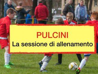 sessione allenamento pulcini calcio